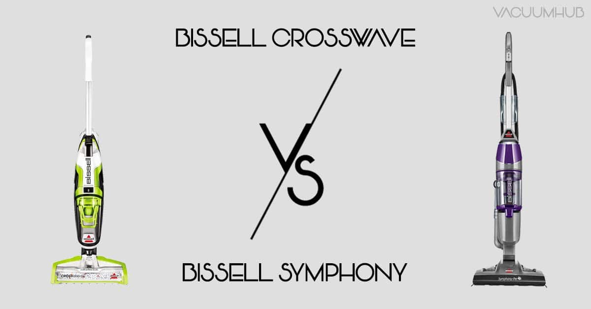 Bissell Crosswave vs Symphony - Which One Is Best For Cleaning?