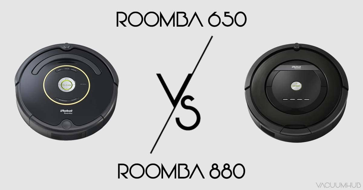 Roomba 650 vs 880 - Get The Best Robotic Vacuum