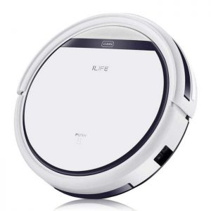 ILIFE V3s Pro Robotic Vacuum Pet Hair Care, Powerful Suction Tangle-free, Slim Design, Auto Charge, Daily Planning, Good For Hard Floor and Low Pile Carpet, Original Version