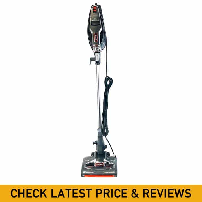 Shark Rocket HV382 DuoClean Ultra-Light Corded (Non-Cordless) Bagless Carpet and Hard Floor with Hand Vacuum