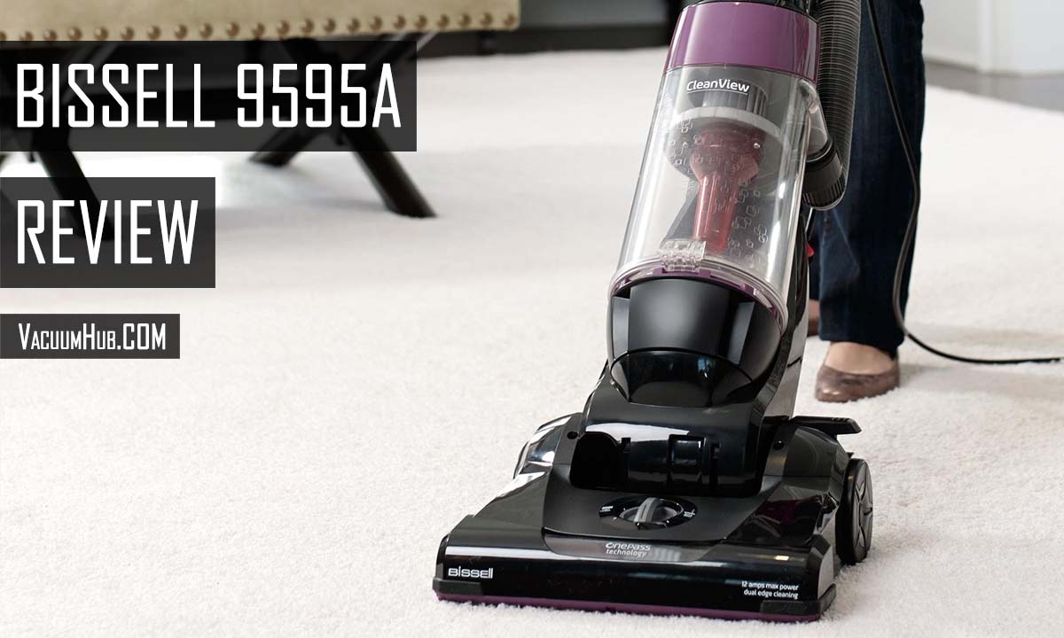 Bissell 9595A Review - CleanView Upright Vacuum With Onepass Technology