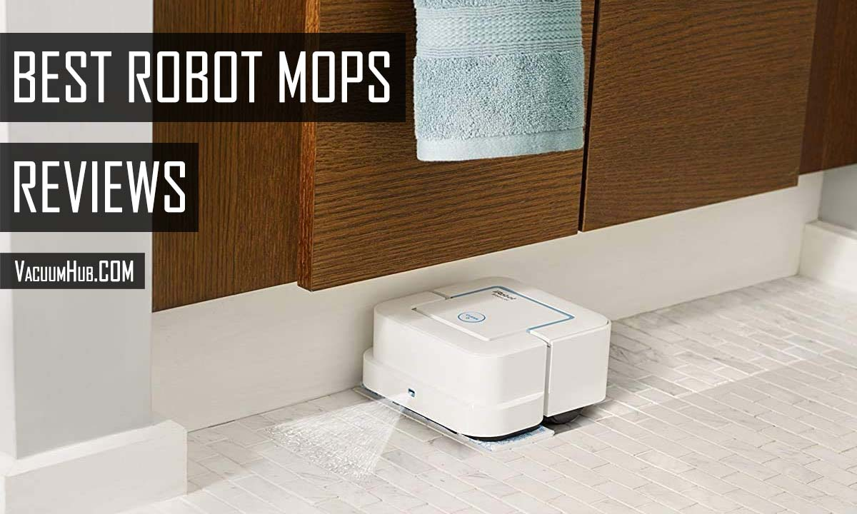 Best Robot Mops Reviews 2021 - Vacuum & Mop Combo