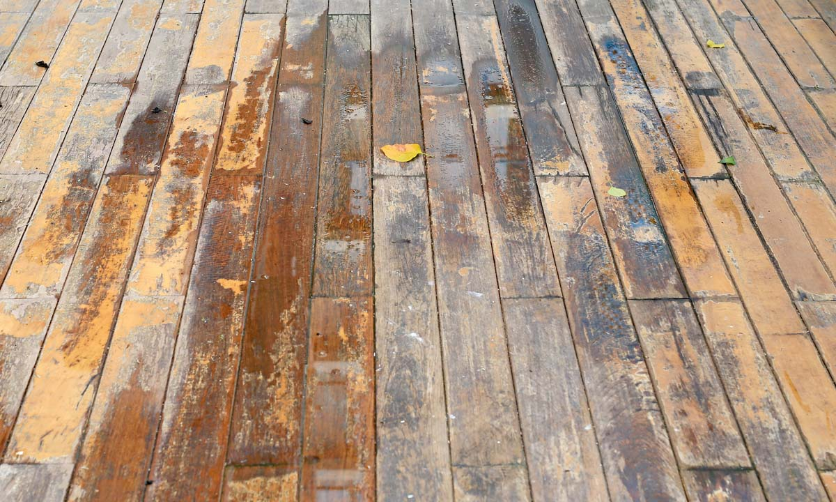 How To Remove Dark Water Stains From Wood Floors