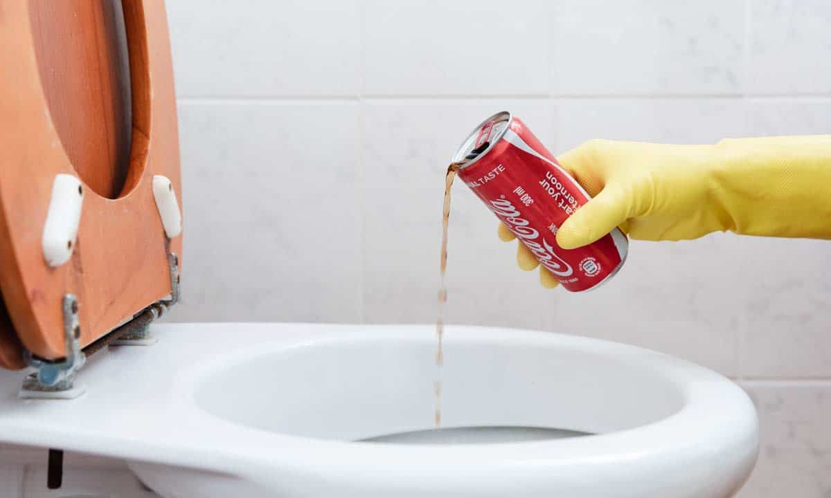 How to Clean Toilet Bowl Stains with Coke?