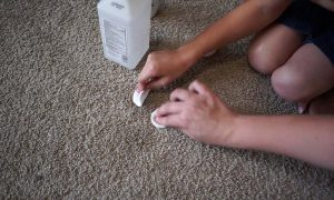 How to Get Sharpie Out of Carpet