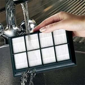 how to clean non washable hepa filter