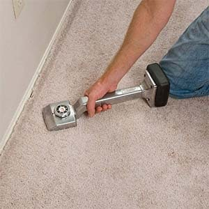 how to get bumps out of carpet