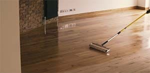 how to blend stain on hardwood floor