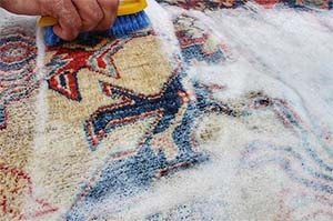 how to clean car carpet without vacuum