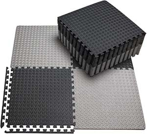 how to make rubber mats less slippery