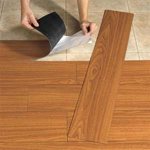 how to install vinyl tile flooring on plywood